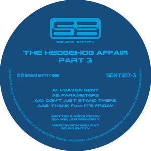"Hedgehog Affair Volume 3 - Second Rush - Sound Entity Records - Ron Wells - SE1217-3 -12"" vinyl repress"