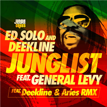ED SOLO/DEEKLINE feat GENERAL LEVY - Junglist - JC 110- Jungle Cakes  - 12
