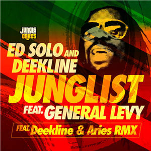 "ED SOLO/DEEKLINE feat GENERAL LEVY - Junglist - JC 110- Jungle Cakes  - 12"" VINYL"
