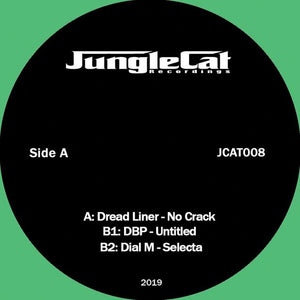 Jungle Cat 008 Va - Dubliner - No Crack, DBP - Untitled, Dial M - Selecta.  12""
