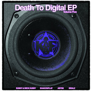 Kniteforce - Death To Digital EP Vol 5 - KF 103 -SUNNY/DECK HUSSY/SHADOWPLAY/ABYSS/IDEALZ