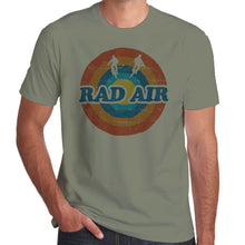 Load image into Gallery viewer, Rad Air Roundel Twin Air retro distressed print T-Shirt 100% Cotton