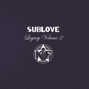 "Sub Love - Legacy EP Volume 2 - 12"" double pack - Kniteforce - KF105"