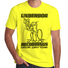 Load image into Gallery viewer, Underdog Recordings Hardcore Junge Techno T-Shirt