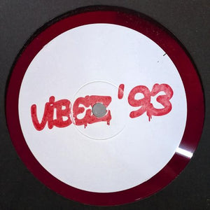 VIBEZ 93 - Unknown - Prototype  EP - Pink Marbled Vinyl - Vibez93005 - Fokuz Recs