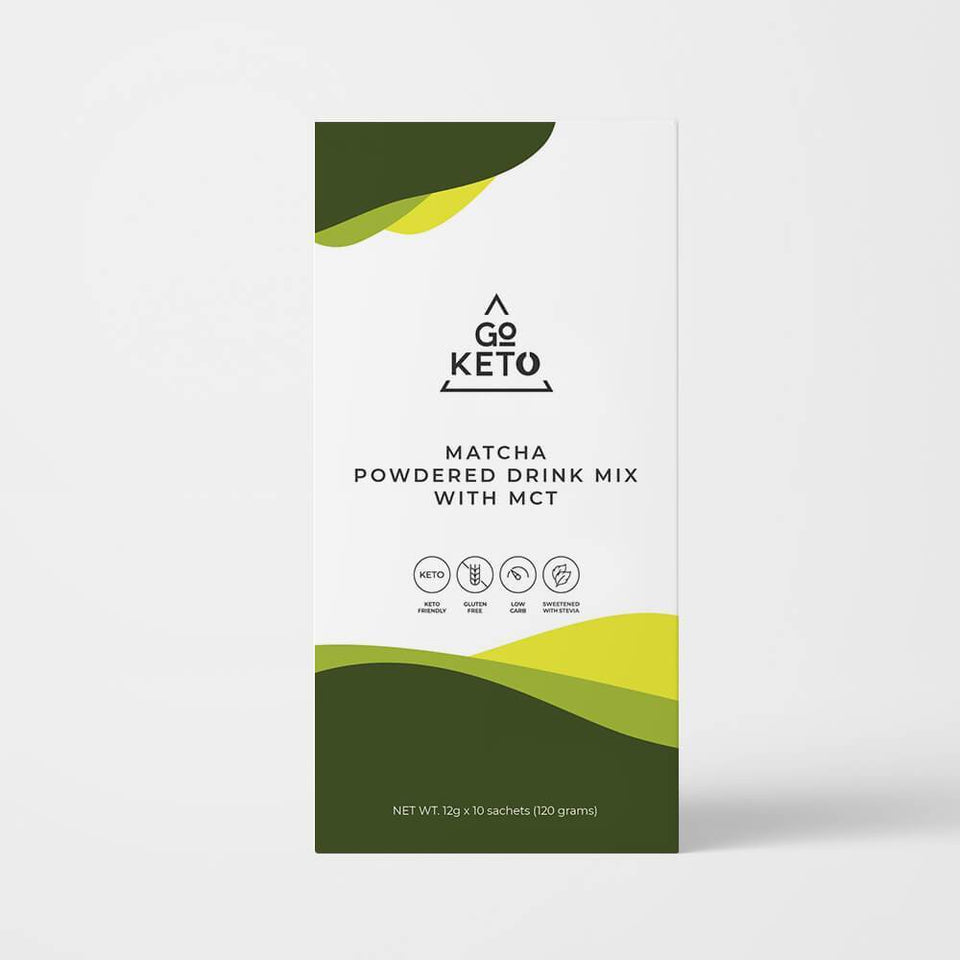 Keto Matcha Drink with MCT