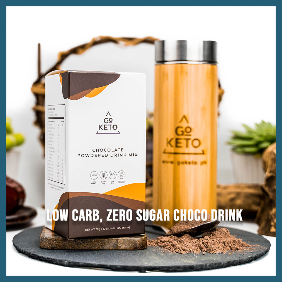 Keto Chocolate Mix Drink with MCT