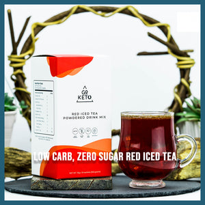 Keto Red Iced Tea