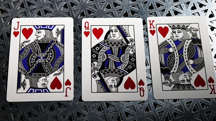 Bicycle Metalluxe Luxe Metal Stamped Rider Back Poker Playing Cards