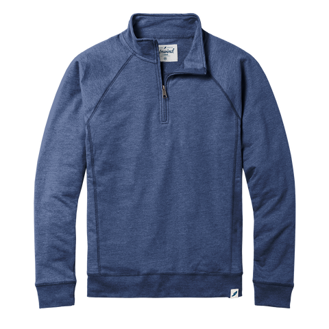 673UFQZ French Terry Fleece Quarter Zip