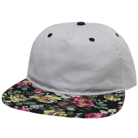 A5FB Axel 5-Panel Flat Brim Hat