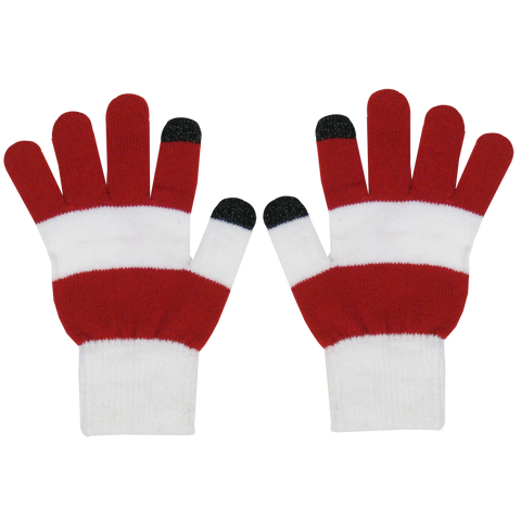 KNMG15 Rugby Stripe Smartphone Magic Gloves