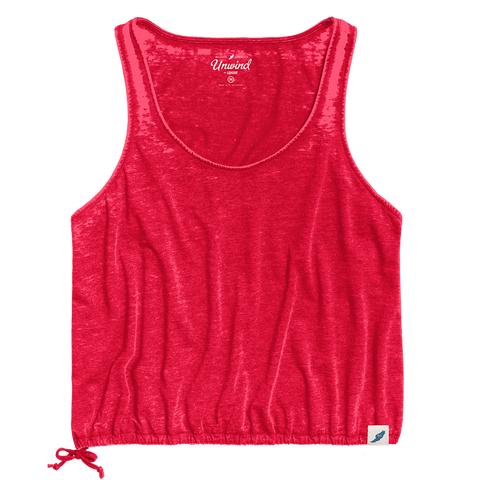 LU210 Burnout Drawstring Tank