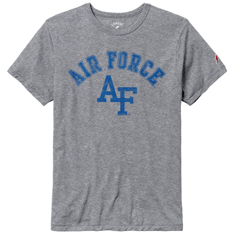 Air Force Falcons Heather Grey Victory Falls Short Sleeve Tee