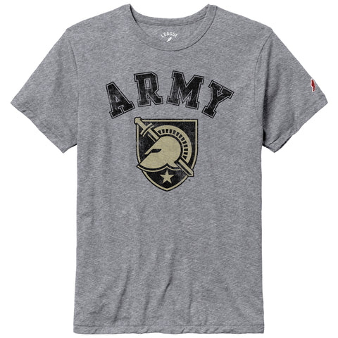Army Black Knights Heather Grey Victory Falls Short Sleeve Tee