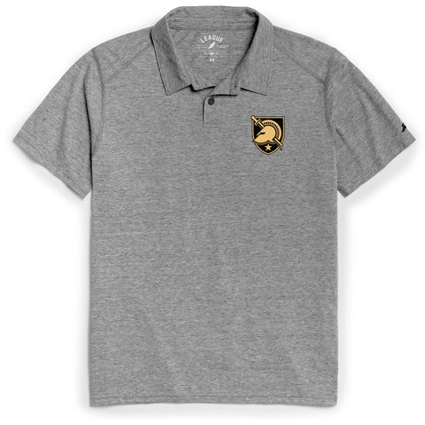 Army Black Knights Men's Heather Grey Reclaim Polo Tee