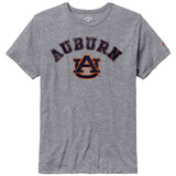 Auburn Tigers Heather Grey Victory Falls Short Sleeve Tee
