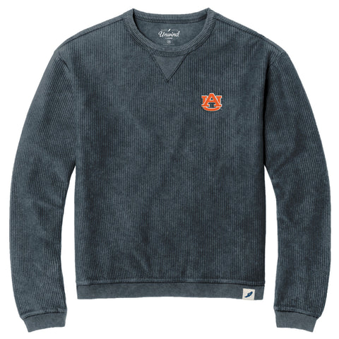 Auburn Tigers Unisex Denim Timber Crew Corded Sweatshirt