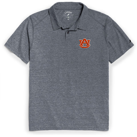 Auburn Tigers Men's Heather Navy Reclaim Polo Tee