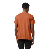 Clemson Tigers Heather Orange Victory Falls Short Sleeve Tee