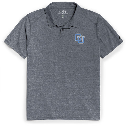 Columbia University Lions Men's Heather Navy Reclaim Polo Tee