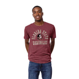 Florida State Seminoles Heather Garnet Victory Falls Short Sleeve Tee