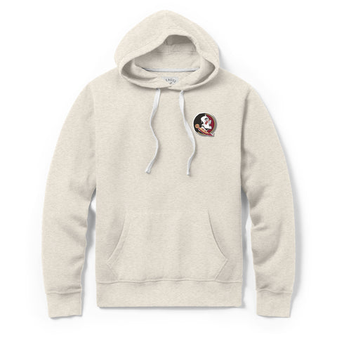 Florida State Seminoles Men's Oatmeal Stadium Hood Sweatshirt