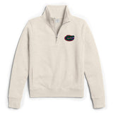 Florida Gators Women's Oatmeal Academy 1/4 Zip Sweatshirt