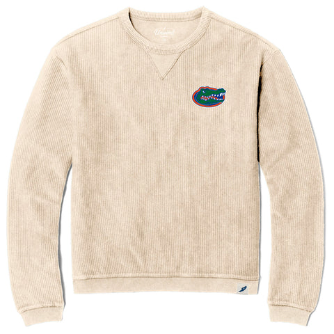 Florida Gators Unisex Denim Timber Crew Corded Sweatshirt