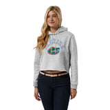 Florida Gators Women's Ash Gray 1636 Cropped Sweatshirt