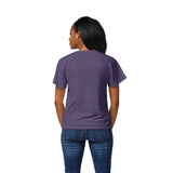 LSU Tigers Women's Heather Purple Intramural Boyfriend V Tee