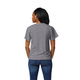 Michigan State Spartans Women's Heather Grey Intramural Boyfriend V Tee