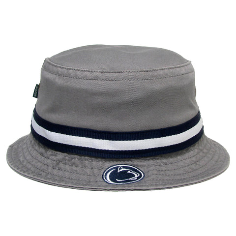 Penn State Nittany Lions Grey Relaxed Twill Bucket Hat