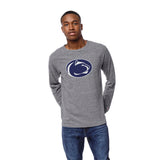 Pennsylvania State Nittany Lions Men's Heather Gray Victory Falls Long Sleeve Tee