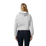 Pittsburgh Panthers Women's Ash Grey 1636 Cropped Sweatshirt