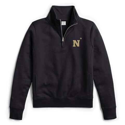 Navy Midshipmen Women's Navy Academy 1/4 Zip Sweatshirt
