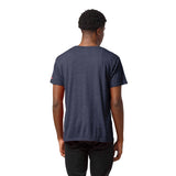 Navy Midshipmen Heather Navy Victory Falls Short Sleeve Tee