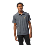 Navy Midshipmen Men's Heather Navy Reclaim Polo Tee