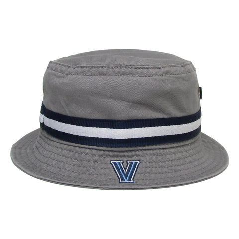 Villanova Wildcats Grey Relaxed Twill Bucket Hat