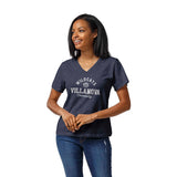 Villanova Wildcats Women's Heather Navy Intramural Boyfriend V Tee