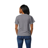 Virginia Tech Hokies Women's Heather Grey Intramural Boyfriend V Tee