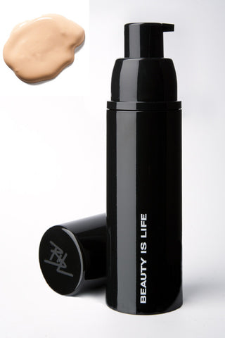 Satin Foundation Fluid - Sable Beauty - 1