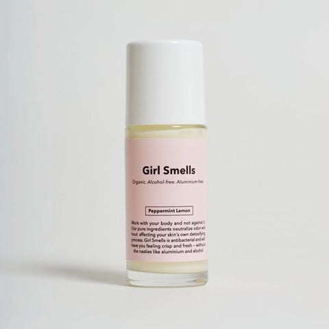 Girl Smells Natural Deodorant - Peppermint Lemon