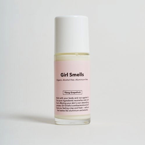 Girl Smells Roll On Natural Deodorant -Ylang Grapefruit