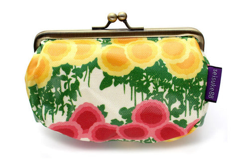 Seisuke88-Cosmetic Bag (Manju Kiku) - Sable Beauty