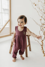 Load image into Gallery viewer, Organic Cotton Muslin Chelsea Onepiece - Sugar Plum