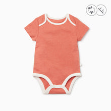 Load image into Gallery viewer, Coral Short Sleeve Bodysuit