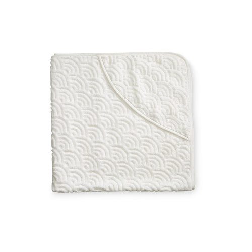 Baby Towel Hooded - GOTS Off-White