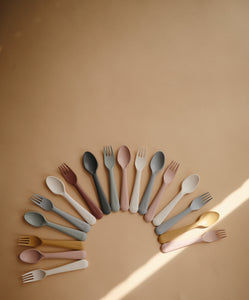 Fork and Spoon Set (Woodchuck)