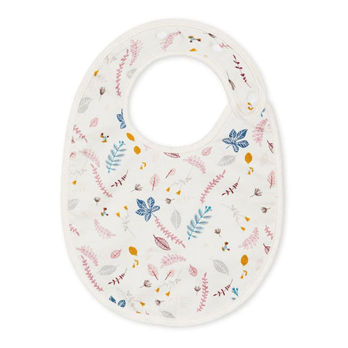 Classic Bib - OCS Pressed Leaves Rose
